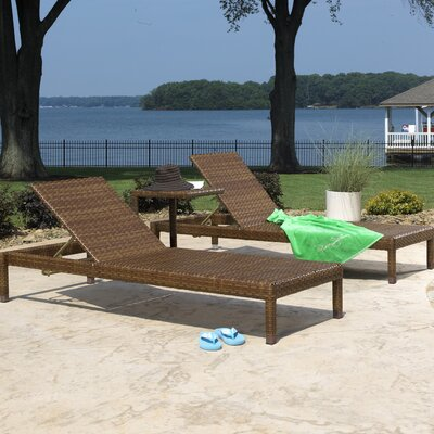 St Barths 3 Piece Chaise Lounge Set