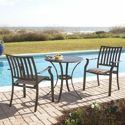 Island Breeze 3 Piece Bistro Set PJHR1001 15507937