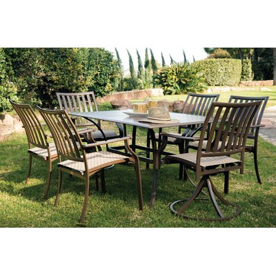 Island Breeze 7 Piece Slatted Dining Set PJHR1194 17571715