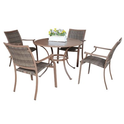 Island Cove 5 Piece Outdoor Dining Set