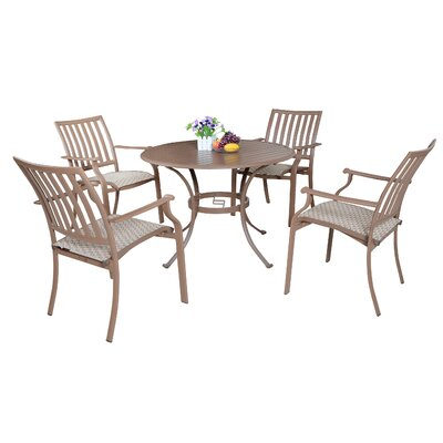 Island Breeze 5 Piece Dining Set