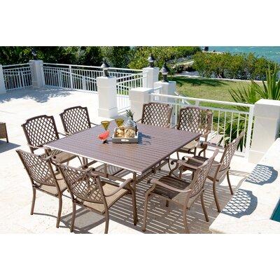 Island Breeze 9 Piece Dining Set