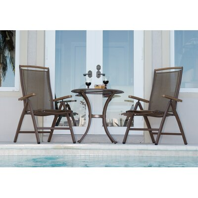 Island Breeze 3 Piece Dining Set