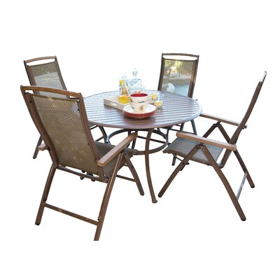 Island Breeze Dining Set Table Size  - Product photo