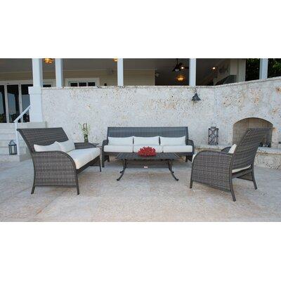 Precious Beach Sunbrella Sofa Set Cushions Newport - Product picture - 13805