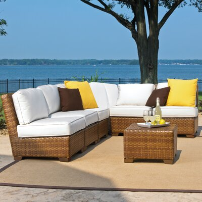 St. Barths 7 Piece Seating Group with Cushion