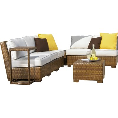 Barths Sunbrella Sectional Set Cushions - Product photo