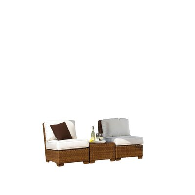 St. Barths 3 Piece Deep Seating Group with Cushions