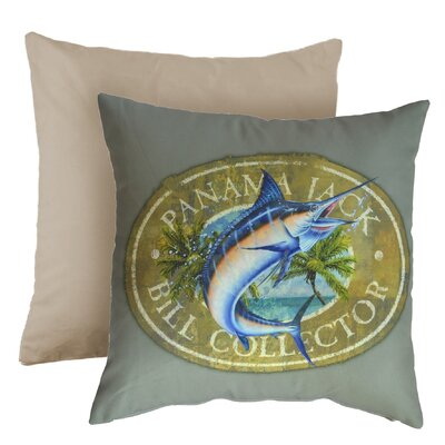 Bill Collector Indoor/Outdoor Throw Pillow