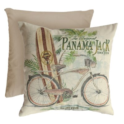 Beach Comber Indoor/Outdoor Throw Pillow