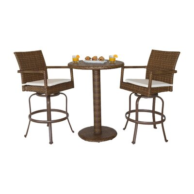 St Barths 3 Piece Bar Set