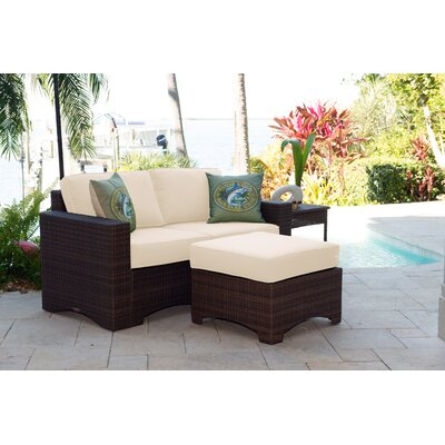 Key Biscayne 3 Piece Deep Seating Group