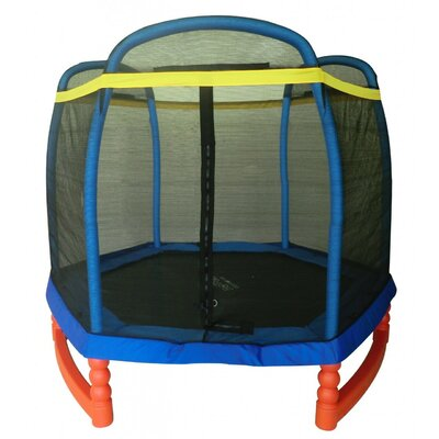 7 Super Trampoline Combo With Enclosure image