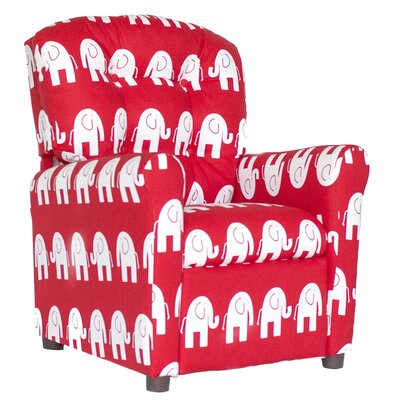 Coben Recliner Upholstery: Crimson