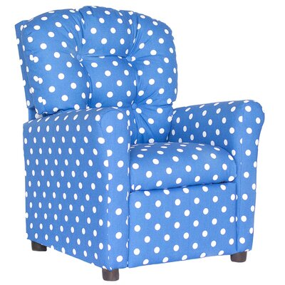 Coledale Recliner Upholstery: Cobalt