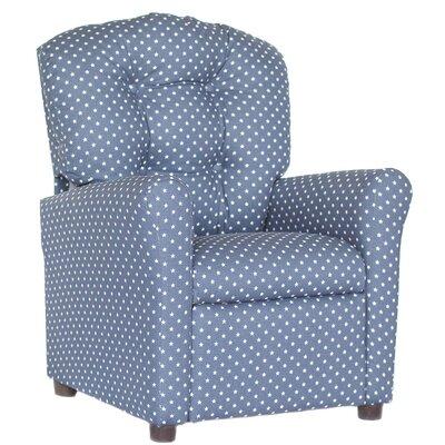 Colena Recliner Upholstery: Navy