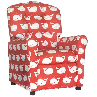 Coatesville Recliner Upholstery: Coral