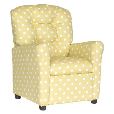 Coledale Recliner Upholstery: Saffron
