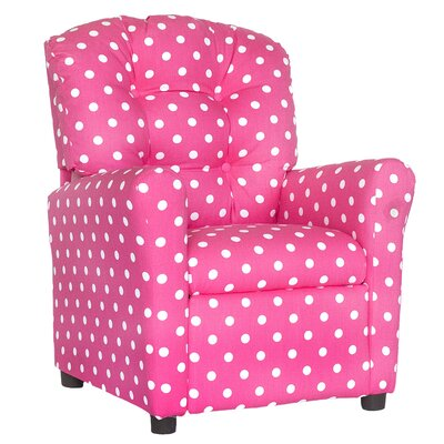 Coledale Recliner Upholstery: Candy Pink