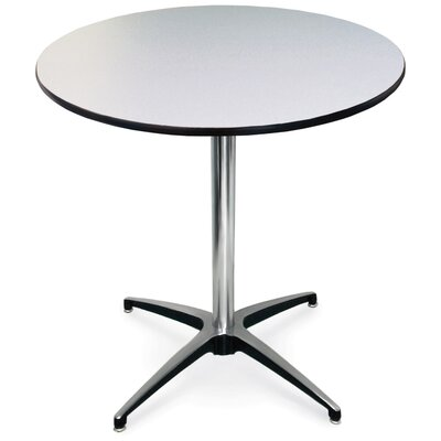 ProRent Gathering Table (Set of 5) Size: 30 H x 30W, Finish: Gray Glace