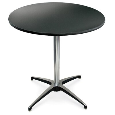 ProRent Gathering Table (Set of 5) Size: 30 H x 30W, Finish: Black