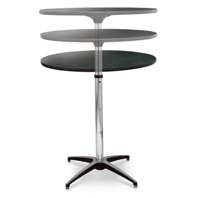 ProRent Gathering Table (Set of 5) Size: 47 H x 30 W x 30 D, Finish: Wild Cherry