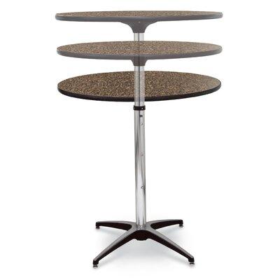 ProRent Gathering Table (Set of 5) Size: 47 H x 30 W x 30 D, Finish: Blackstar Granite