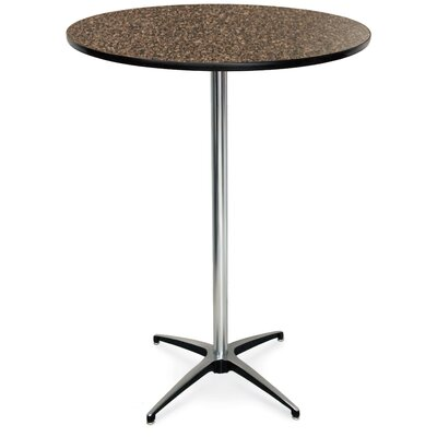 ProRent Gathering Table (Set of 5) Finish: Blackstar Granite, Size: 42 H x 30W