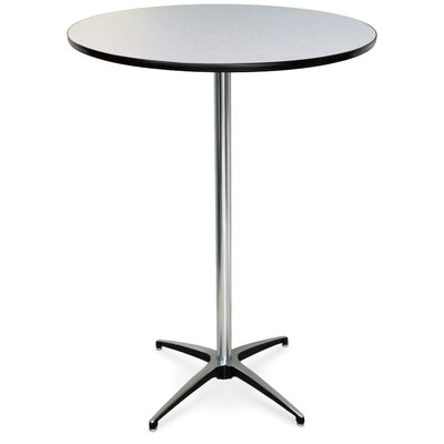 ProRent Gathering Table (Set of 5) Finish: Gray Glace, Size: 42 H x 36W