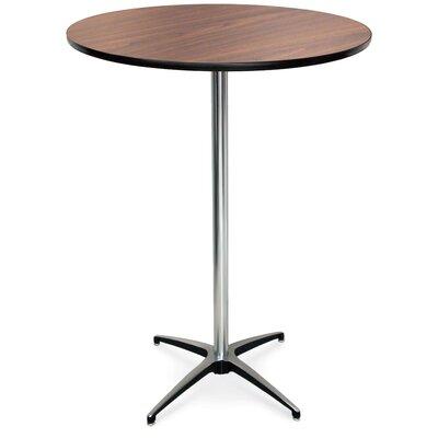 ProRent Gathering Table (Set of 5) Finish: Montana Walnut, Size: 42 H x 36W