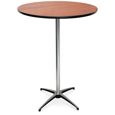 ProRent Gathering Table (Set of 5) Finish: Wild Cherry, Size: 42 H x 30W