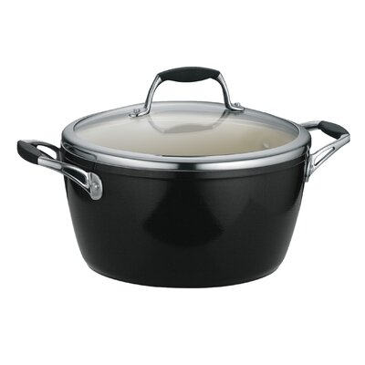 Tramontina Gourmet Ceramica 01 Deluxe Porcelain Enamel Metallic Black 5 Qt Covered Dutch Oven at Sears.com