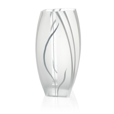 Hand Painted Glass Wind and Grass Series Vase GD158038