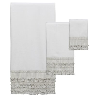 Katzer 3 Piece Towel Set