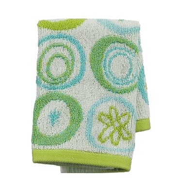 All That Jazz Jacquard Wash Cloth (Set of 2)