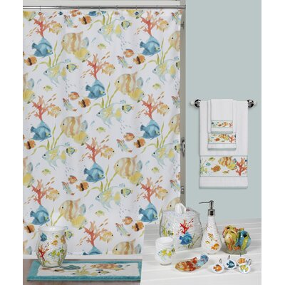 Cater Fish Shower Curtain