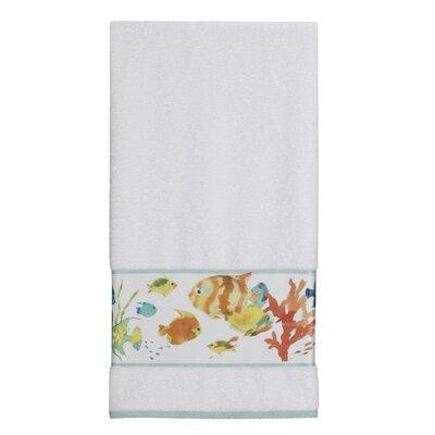 Rainbow Fish Print Bath Towel
