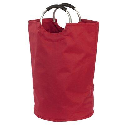 Carlie Bag Hamper Color: Red
