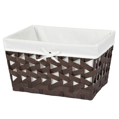 Crossways Storage Basket Finish: Espresso