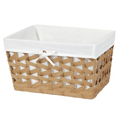 Crossways Storage Basket Finish: Oak