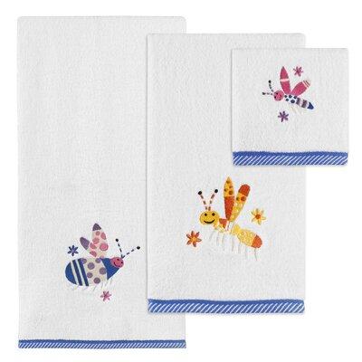 Cute As A Bug 3 Piece Towel Set