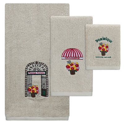 Mckinnon 3 Piece Towel Set