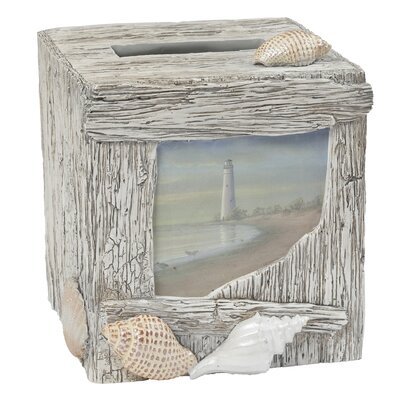 At the Beach Tissue Box Cover