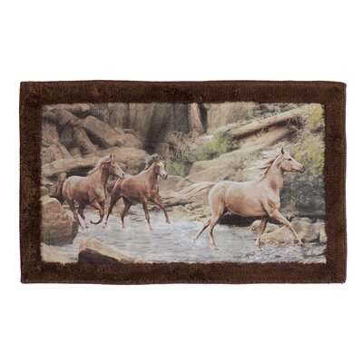 Pennock Horse Multi Color Rug
