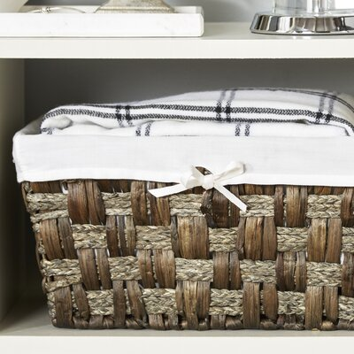 Java Towel & Utility Storage Basket Finish: Grey