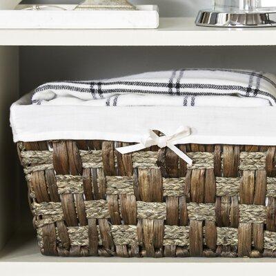 Java Towel & Utility Storage Basket Finish: Grey