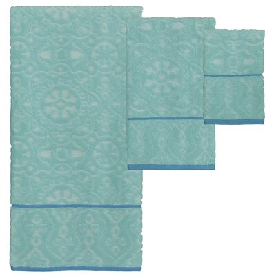 Bettis 3 Piece Jacquard Towel Set
