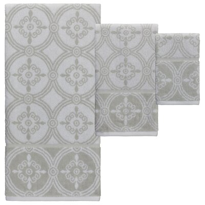 Highland Jacquard 6 Piece Towel Set