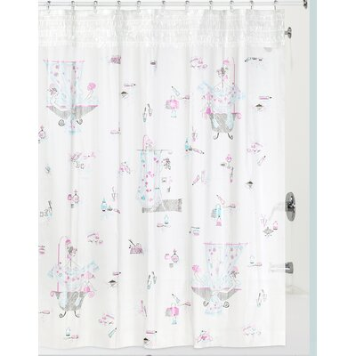 Shufelt Shower Curtain Color: Frost