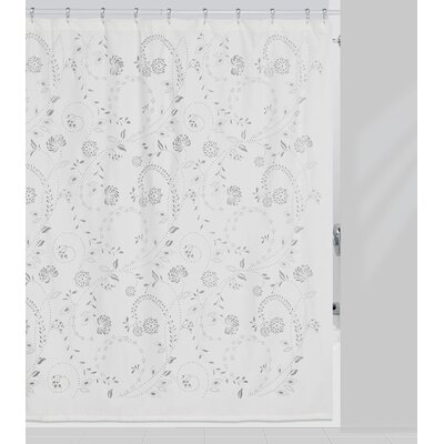 Eyelet Polyester Shower Curtain